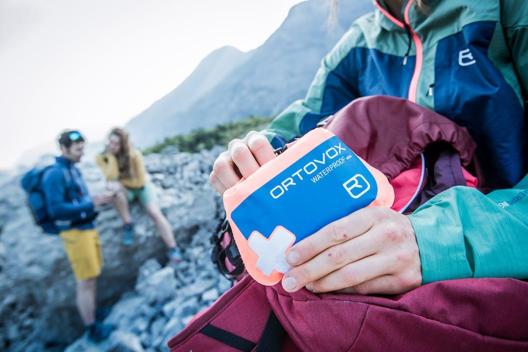 Ortovox Erste Hilfe Sets für die Erstversorgung in Notfällen