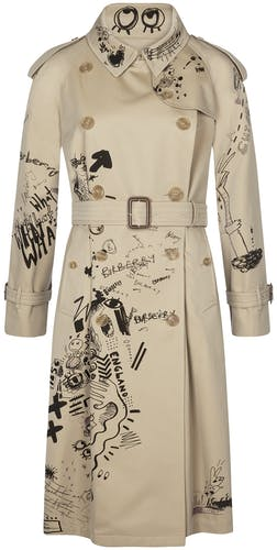 Eastheather Doodle Trenchcoat, Burberry, Trenchoat, Lodenfrey, Munich