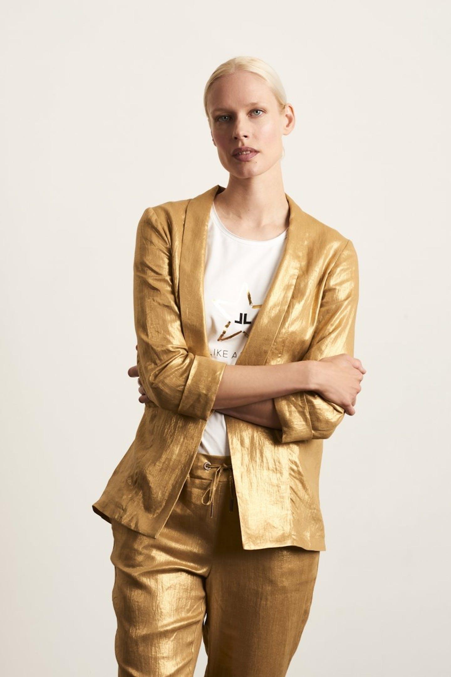 Blazer Ivon   Gold