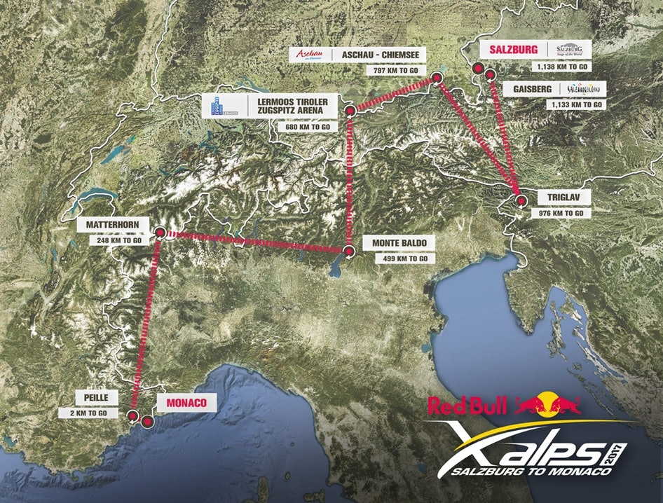 Red-Bull-X-Alps-Route