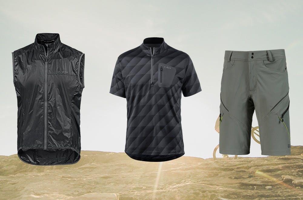 Bekleidung fürs Mountainbiking