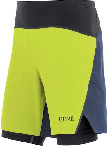GORE WEAR R7 2in1 Shorts - pantaloncini running - uomo