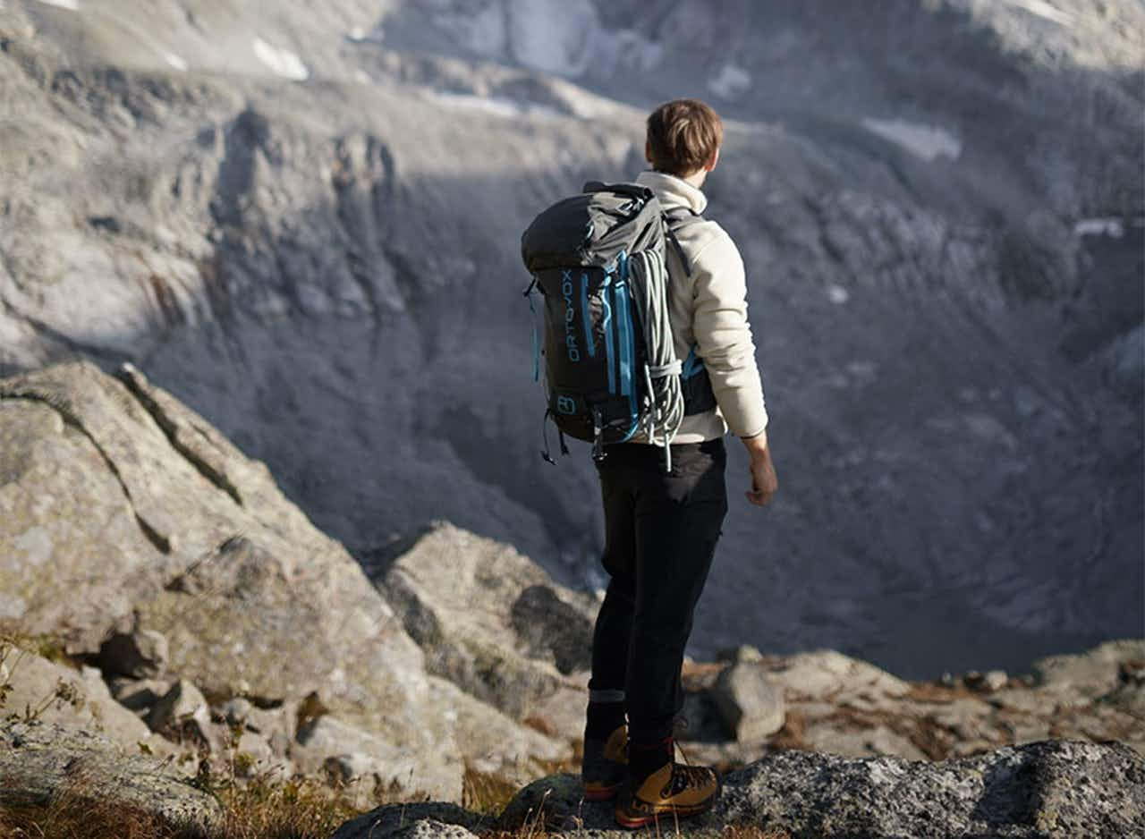 Wanderer im Nationalpark Hohe Tauern