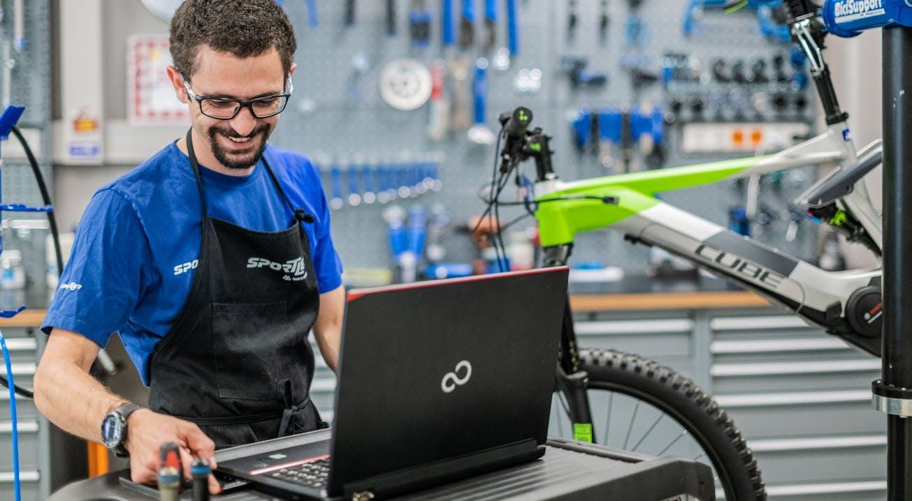 Bosch Software Update in den SPORTLER Bike-Werkstätten