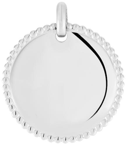 Cette Médaille NINA IMPALA est en Argent 925/1000. Pour l'achat de ce produit, CLEOR s'engage à reverser 0.50€ à l'association Un Enfant par la Main, qui s'engage pour promouvoir les droits des filles à travers le monde et leur offrir un accès à l'éducation.