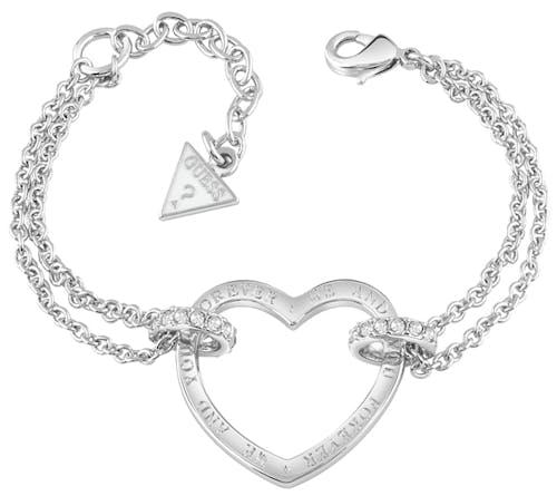 Bracelet GUESS Métal Cristal Blanc