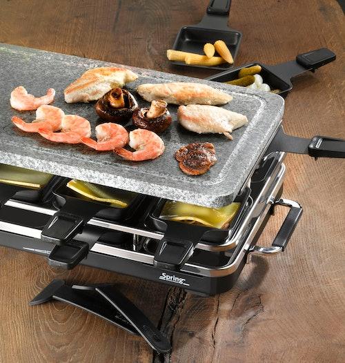 One Kitchen - Spring Raclette 8er mit Granitstein
