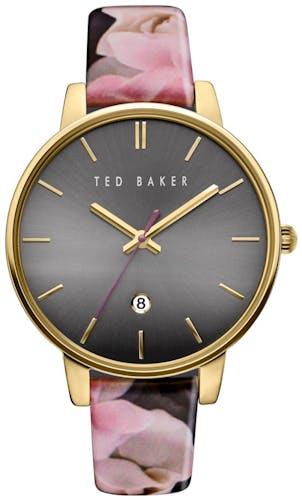 Cette montre TED BAKER se compose d'un Boîtier Rond de 42x48mm et d'un bracelet en Cuir Marron