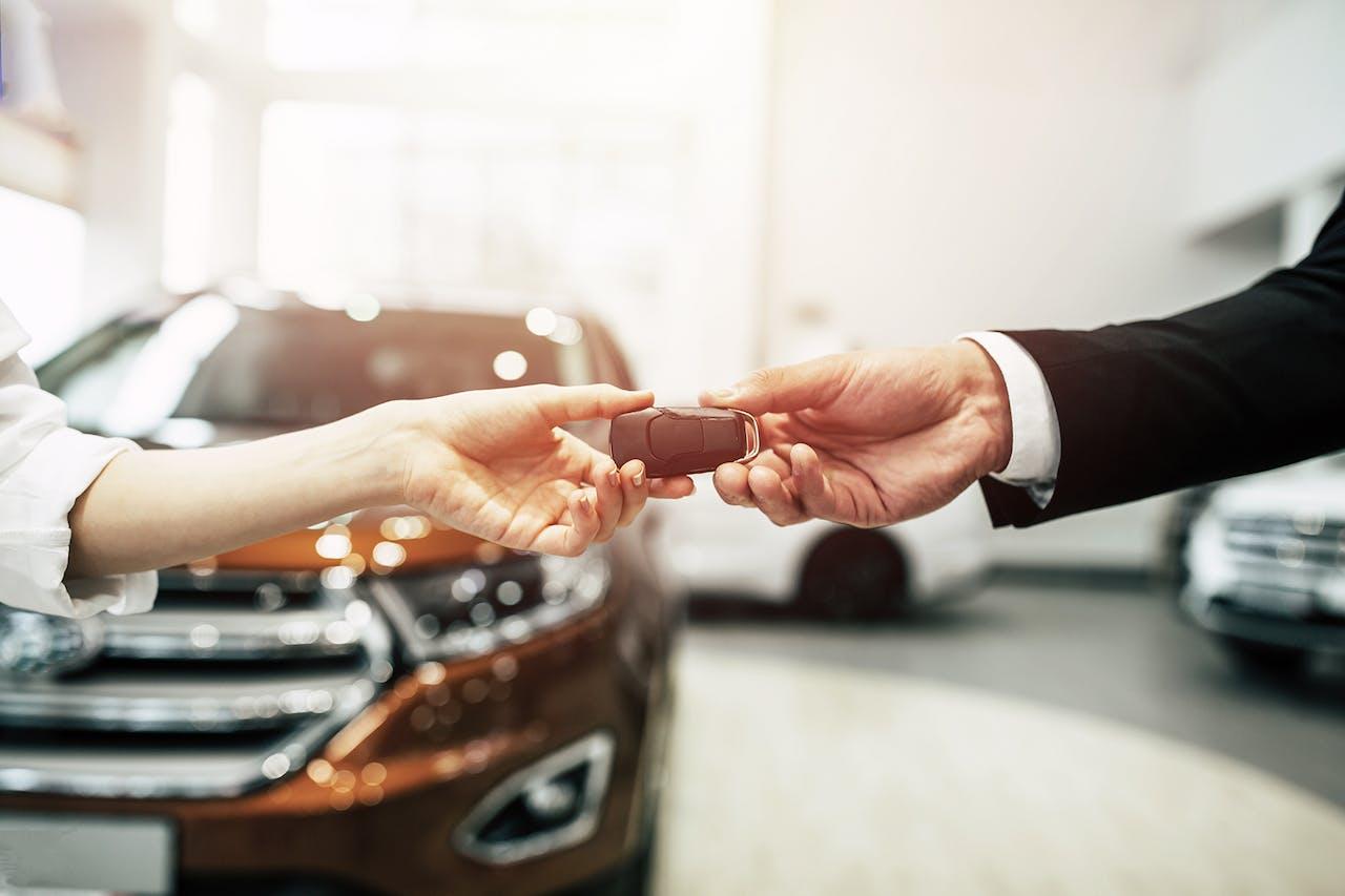 Rückgabe des Leasing Fahrzeug Schlüssels