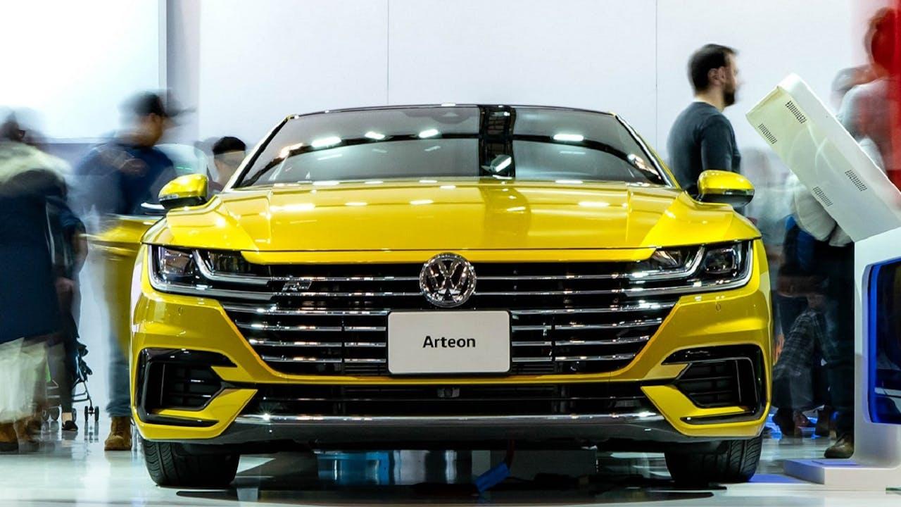 VW Arteon Frontaufnahme Kühlergrill