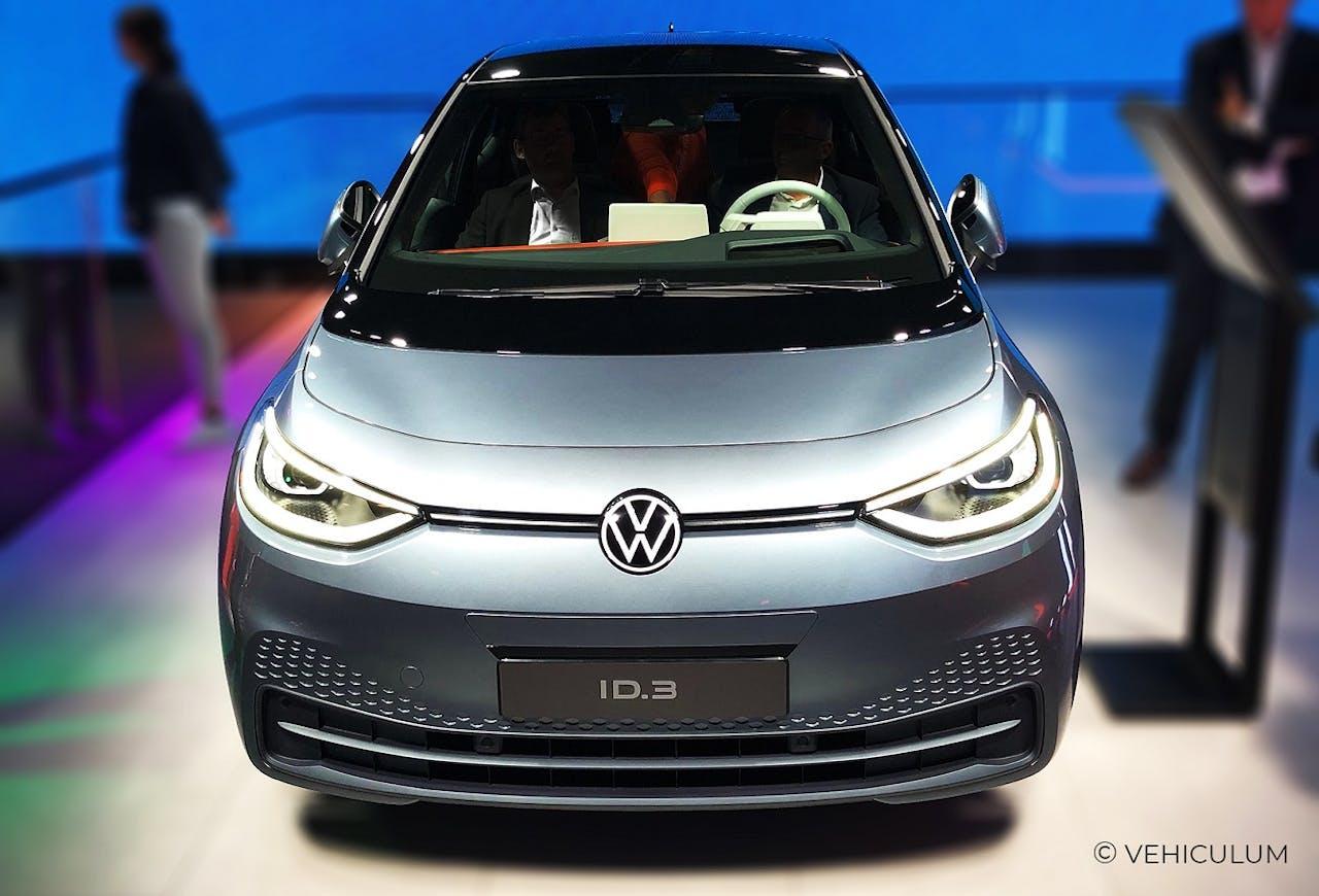 Frontansicht eines VW ID.3 Volkswagen