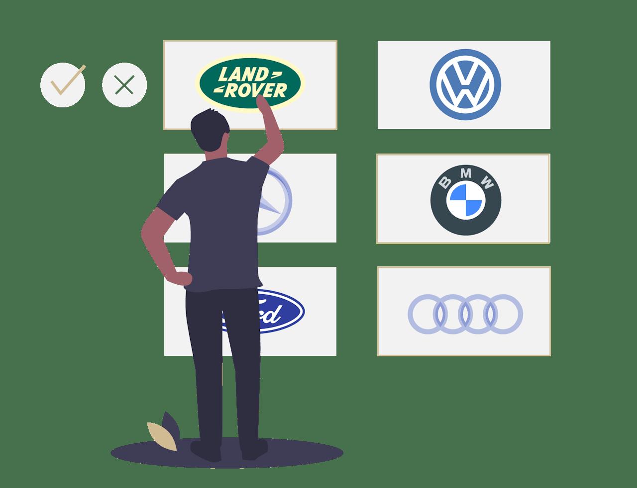 Viele Automarken leasen bei VEHICULUM, flexibles Leasing online