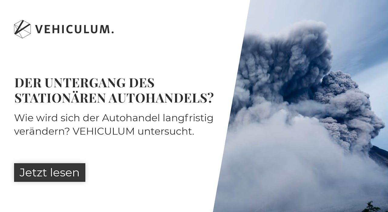 Banner mit Link zum Beitrag über die Veränderung des deutschen Autohandels in Zeiten der Digitalisierung