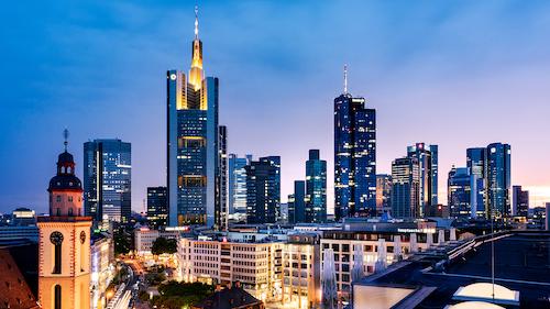 Finanzhauptstadt Frankfurt