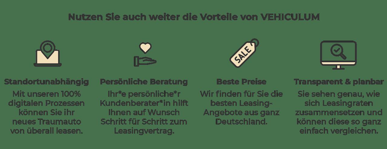 VEHICULUM Vorteile