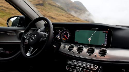 Innenausstattung Sonderausstattung bei Mercedes