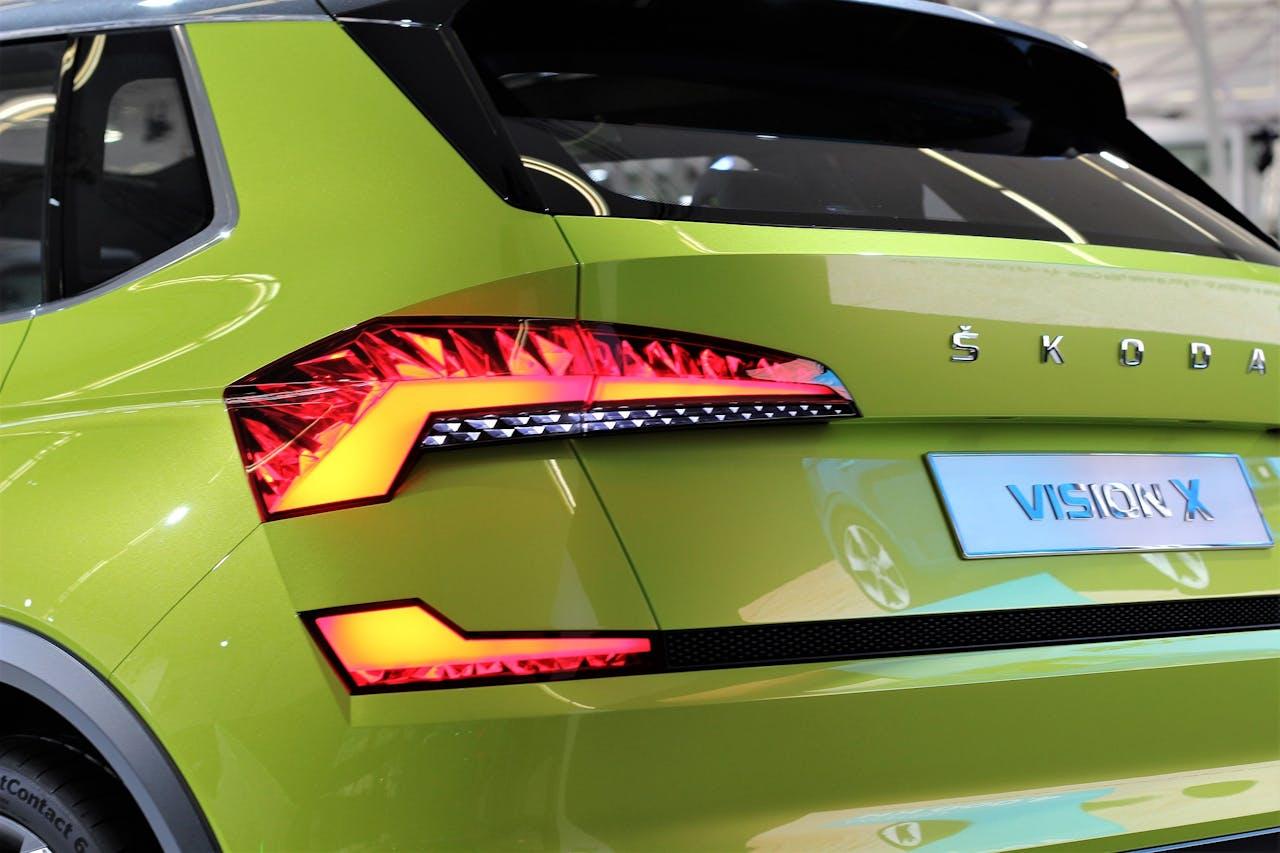 grüner Skoda Vision X