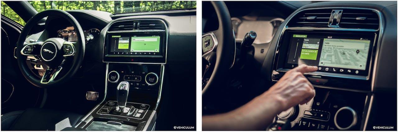 Jaguar XE Innenraum