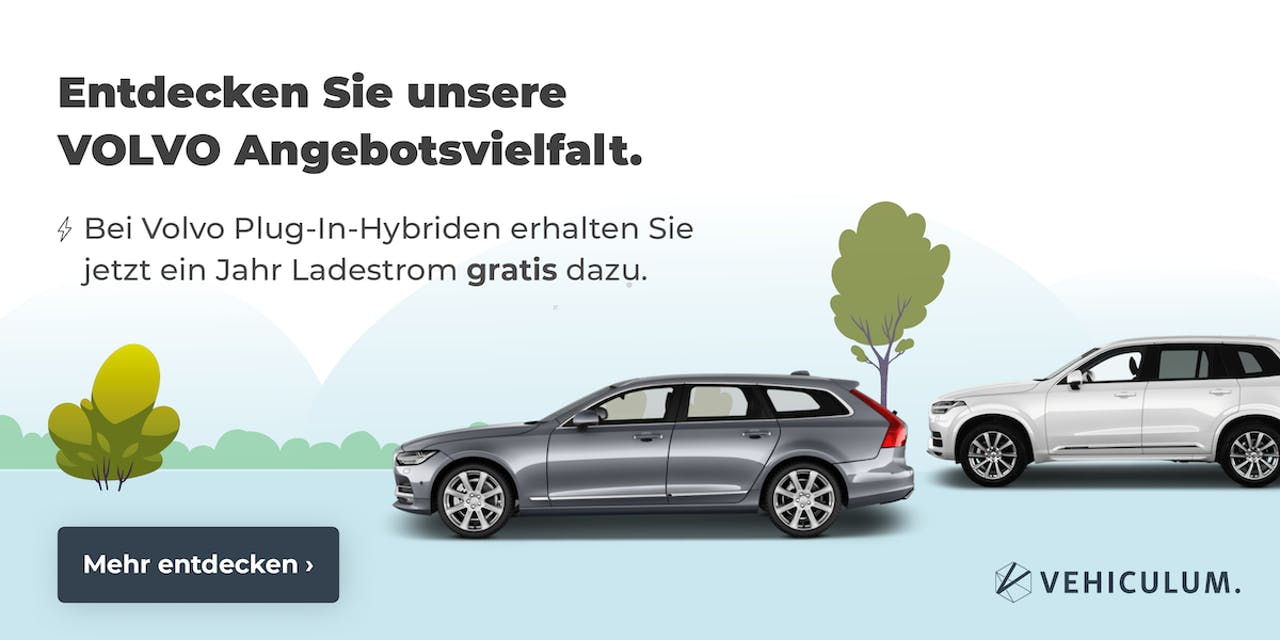Volvo Plug-In-Hybrid Angebote Banner