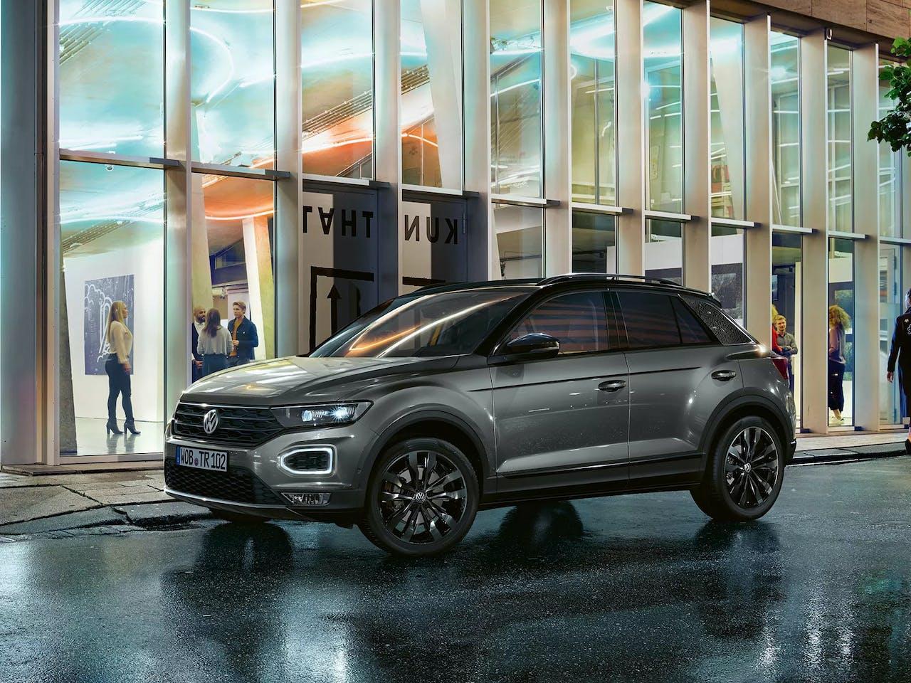 """Volkswagen T-Roc mit """"Black Style"""" Design-Paket"""
