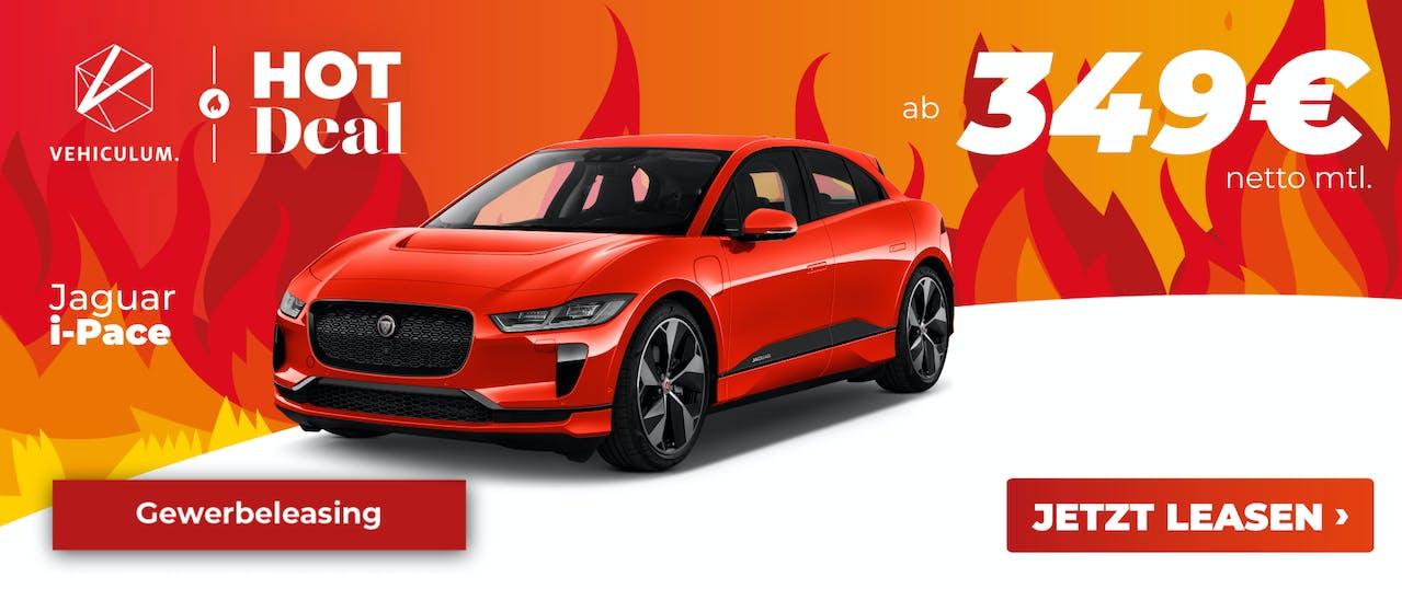 Jaguar i-Pace Leasing Deal Banner
