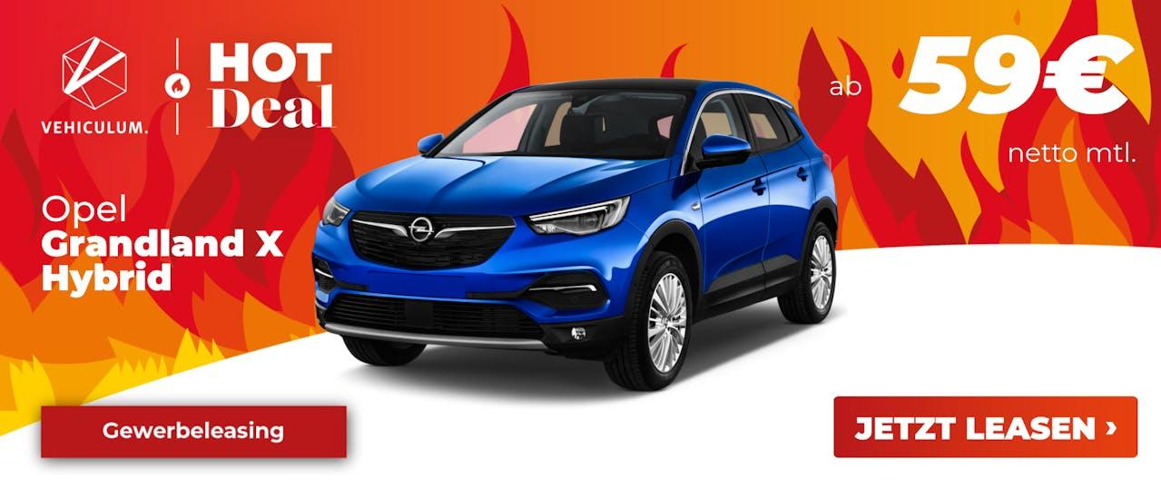 Opel Grandland X Leasing Deal Banner