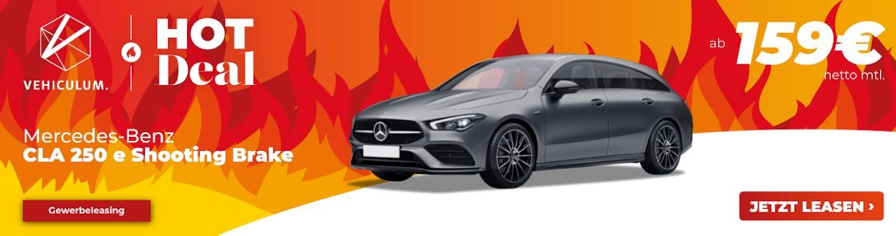 Banner: Mercedes-Benz CLA Leasing bei VEHICULUM