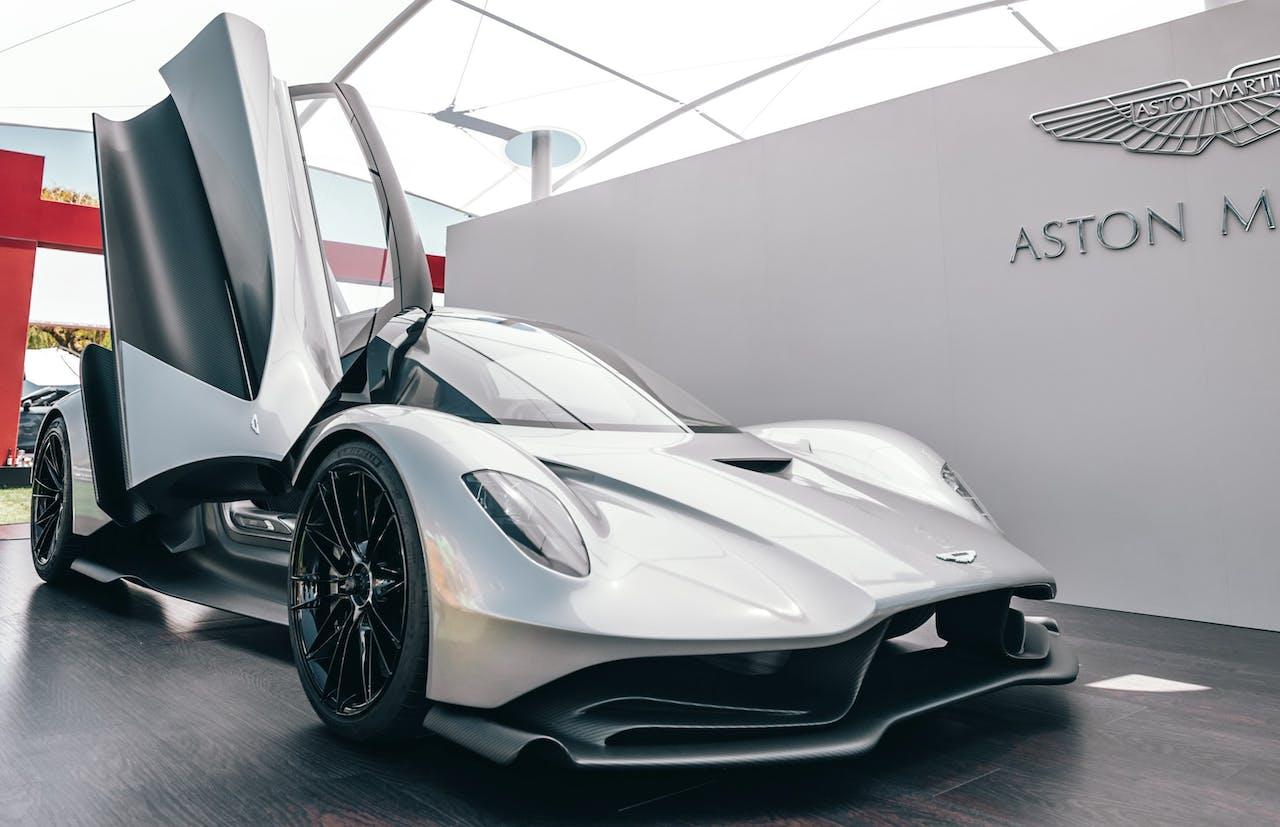 Platz 4 der teuersten Autos der Welt: Aston Martin Valkyrie