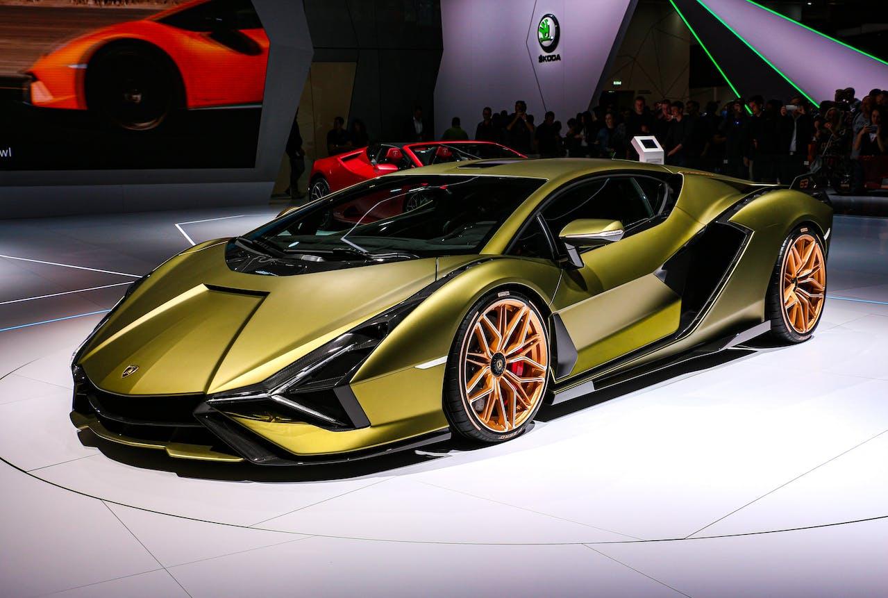 Platz 3 der teuersten Autos der Welt: Lamborghini Sián