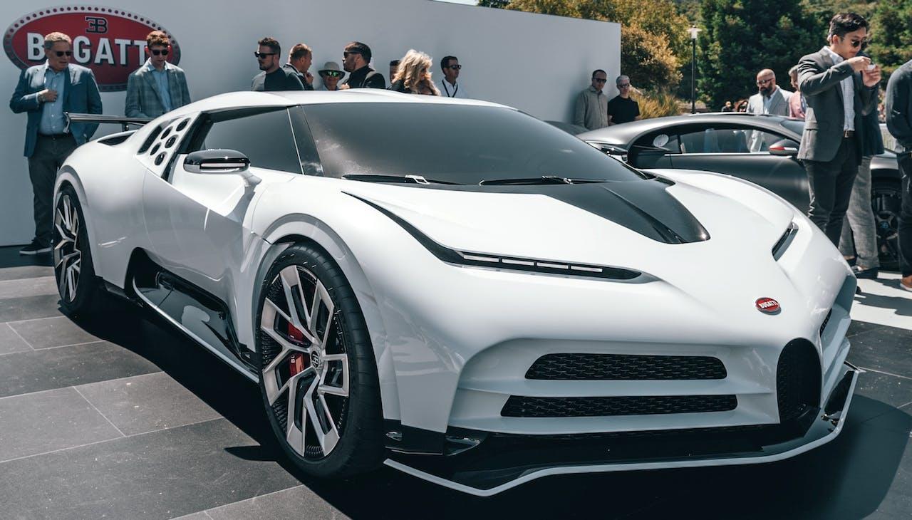 Platz 2 der teuersten Autos der Welt: Bugatti Centodieci