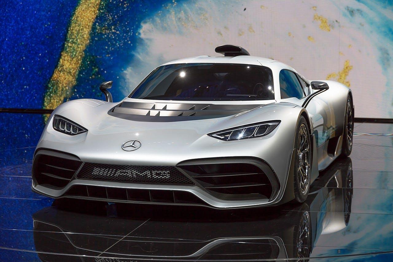 Platz 7 der teuersten Autos der Welt: Mercedes AMG ONE