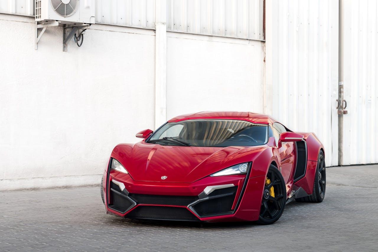Platz 9 der teuersten Autos: W Motors Lykan Hypersport