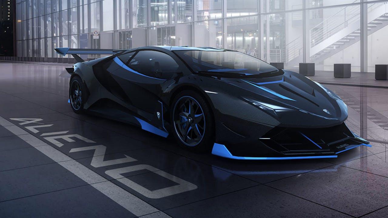ALIENO ARCANUM Elektro-Hypercar in den VEHCULUM News