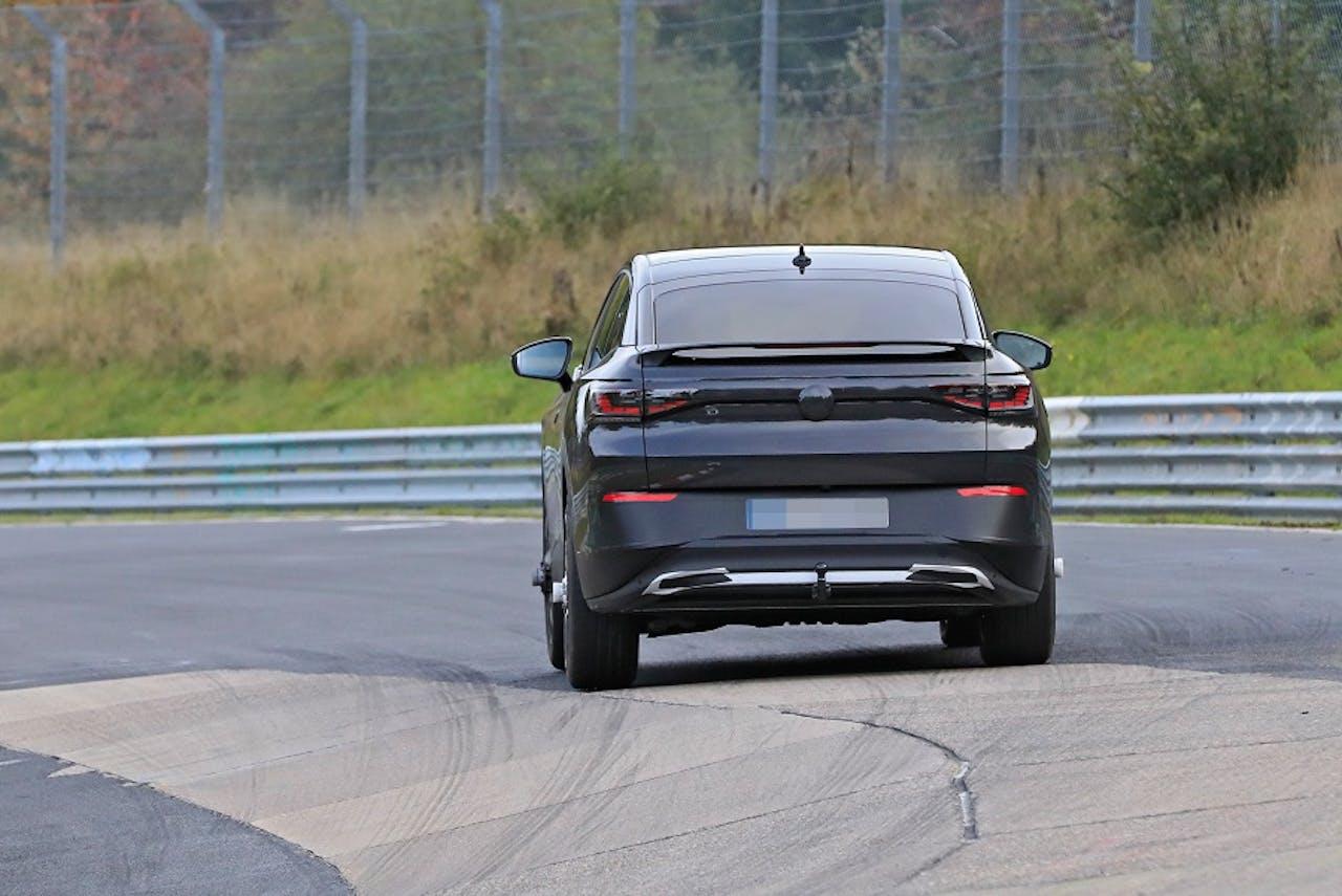 Rückansicht VW ID.5 oder ID.4 Coupé auf VEHICULUM News. Foto. Stefan Baldauf