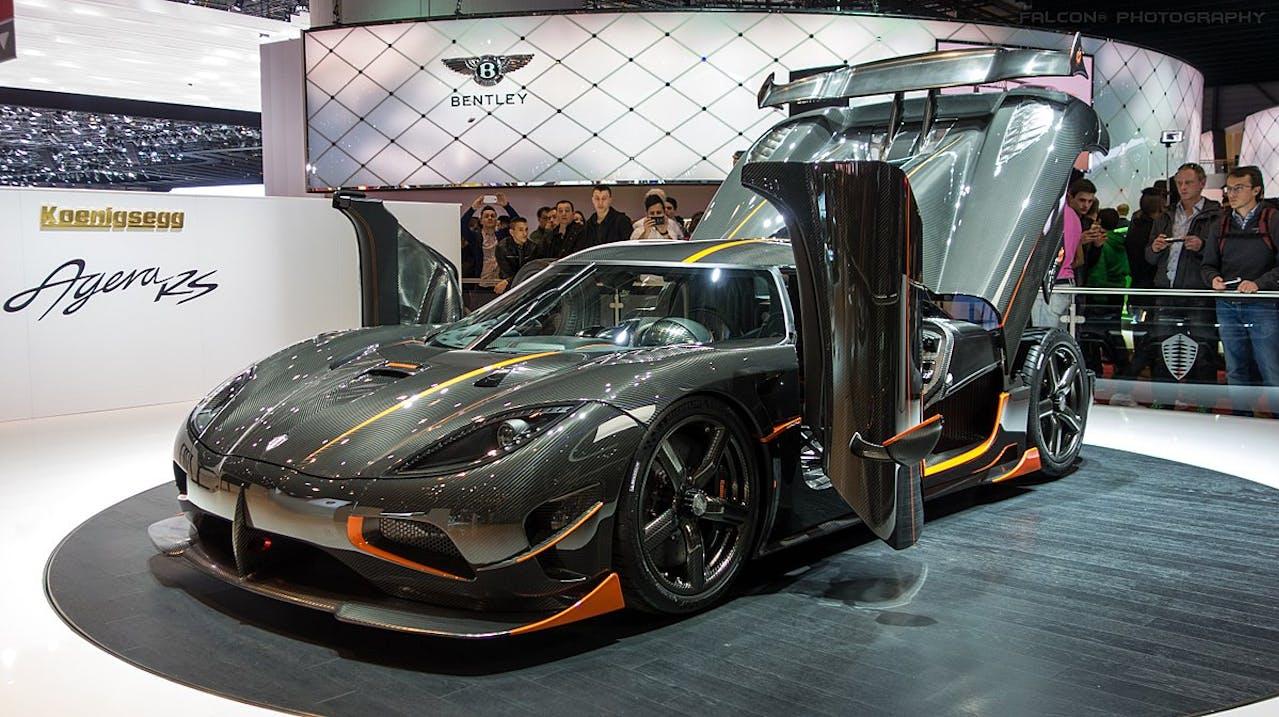 Agera RS von Koenigsegg als Platz 5 der schnellsten Autos der Welt im VEHICULUM Magazin