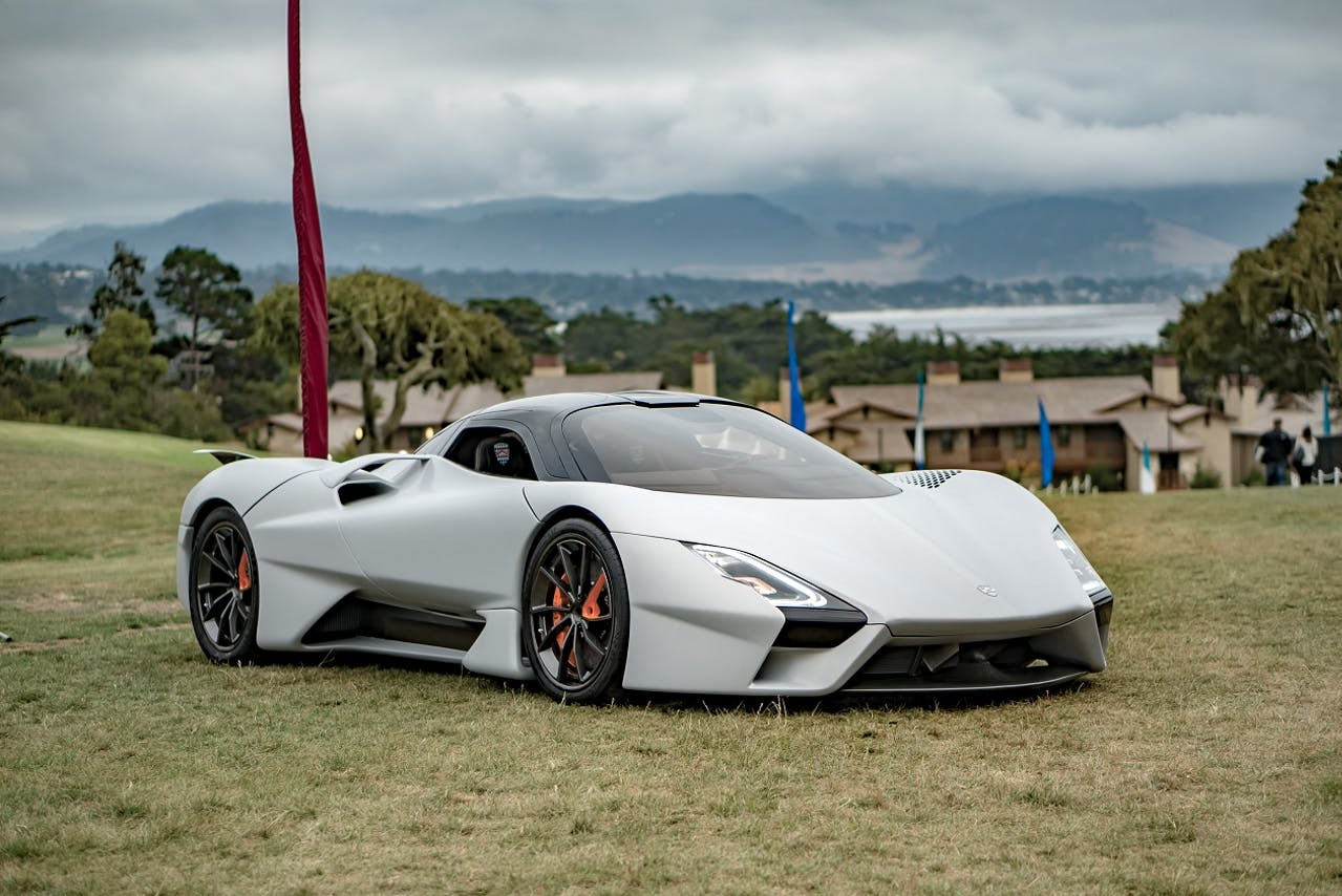 Das schnellste Auto der Welt: Der Tuatara von Shelby Supercars aus den USA. Über 500 km/h ist er gefahren. Die Top 6 im VEHICULUM Magazin