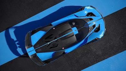 Bugatti Bolide Vogelperspektive - VEHICULUM News