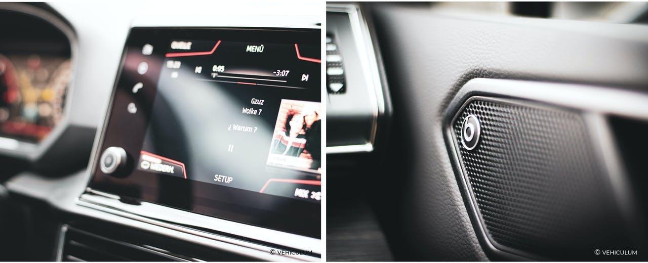 Seat Tarraco SUV Musiksystem beatsAudio VEHICULUM Test