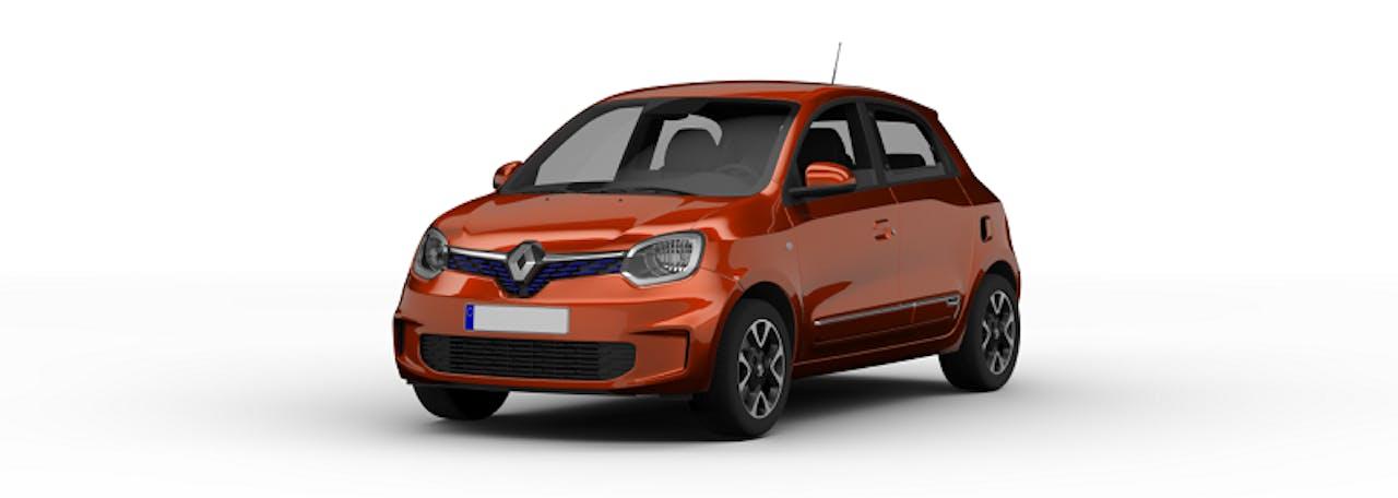 Renault Twingo elektrisch Farbe orange