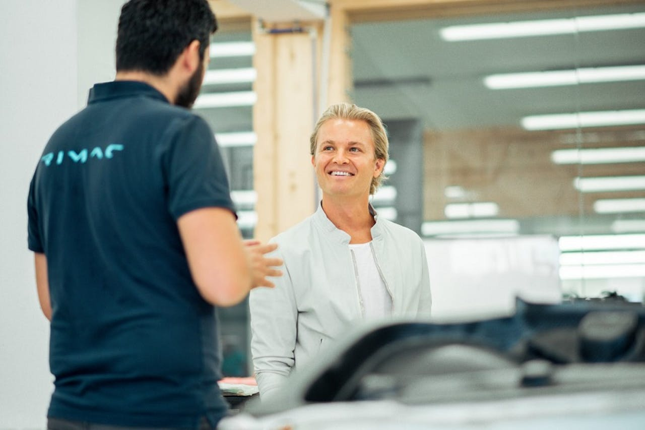 Nico Rosberg bei Rimac Automobili für das C_Two Hypercar