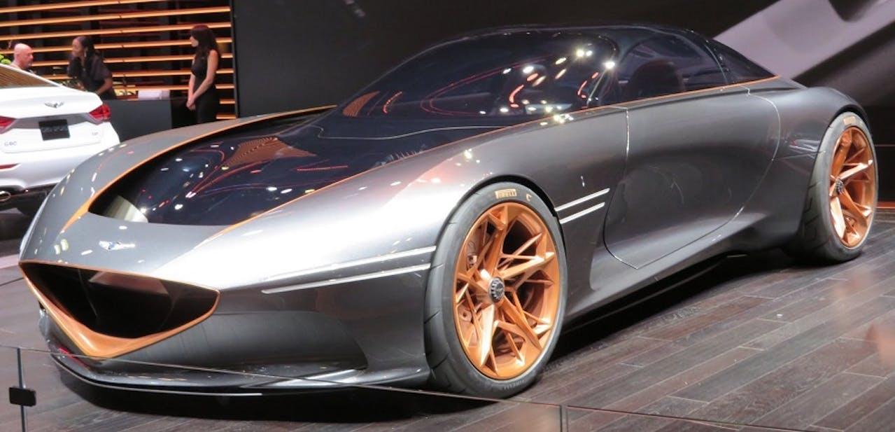 Genesis Essentia Studie mit beeindruckender Aerodynamik im Design