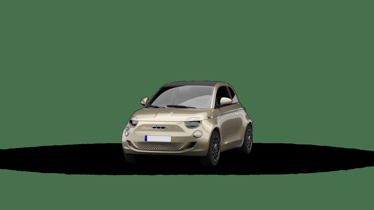 Fiat 500-e beige