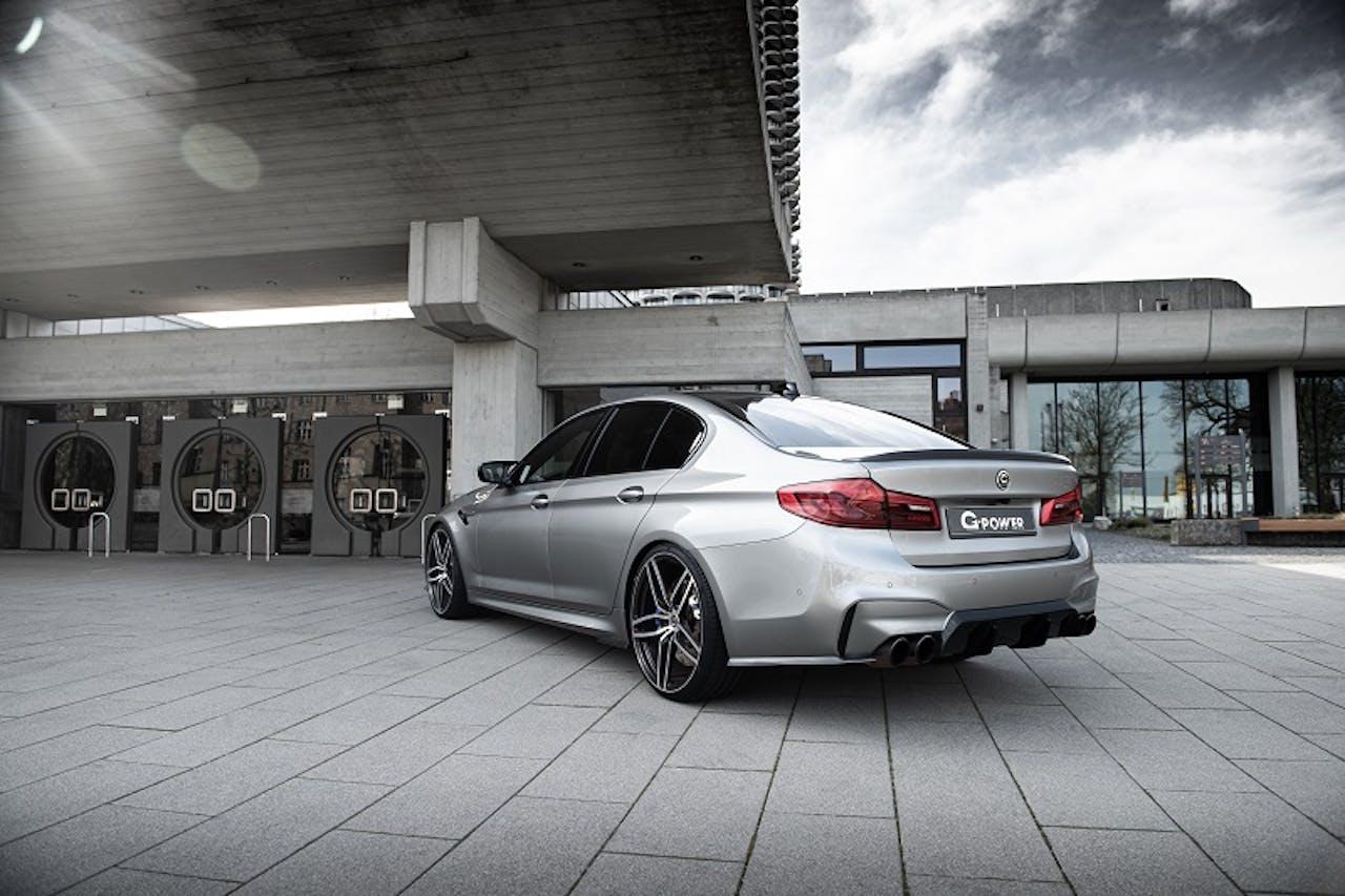 BMW M5 G-Power Leistungssteigerung mit vier Endrohren, Magnesium-Räder und prominentem Diffusor