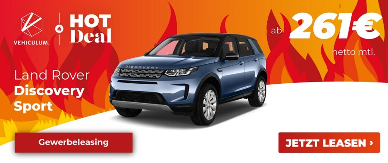 Land Rover Discovery Sport Gewerbeleasing ohne Anzahlung