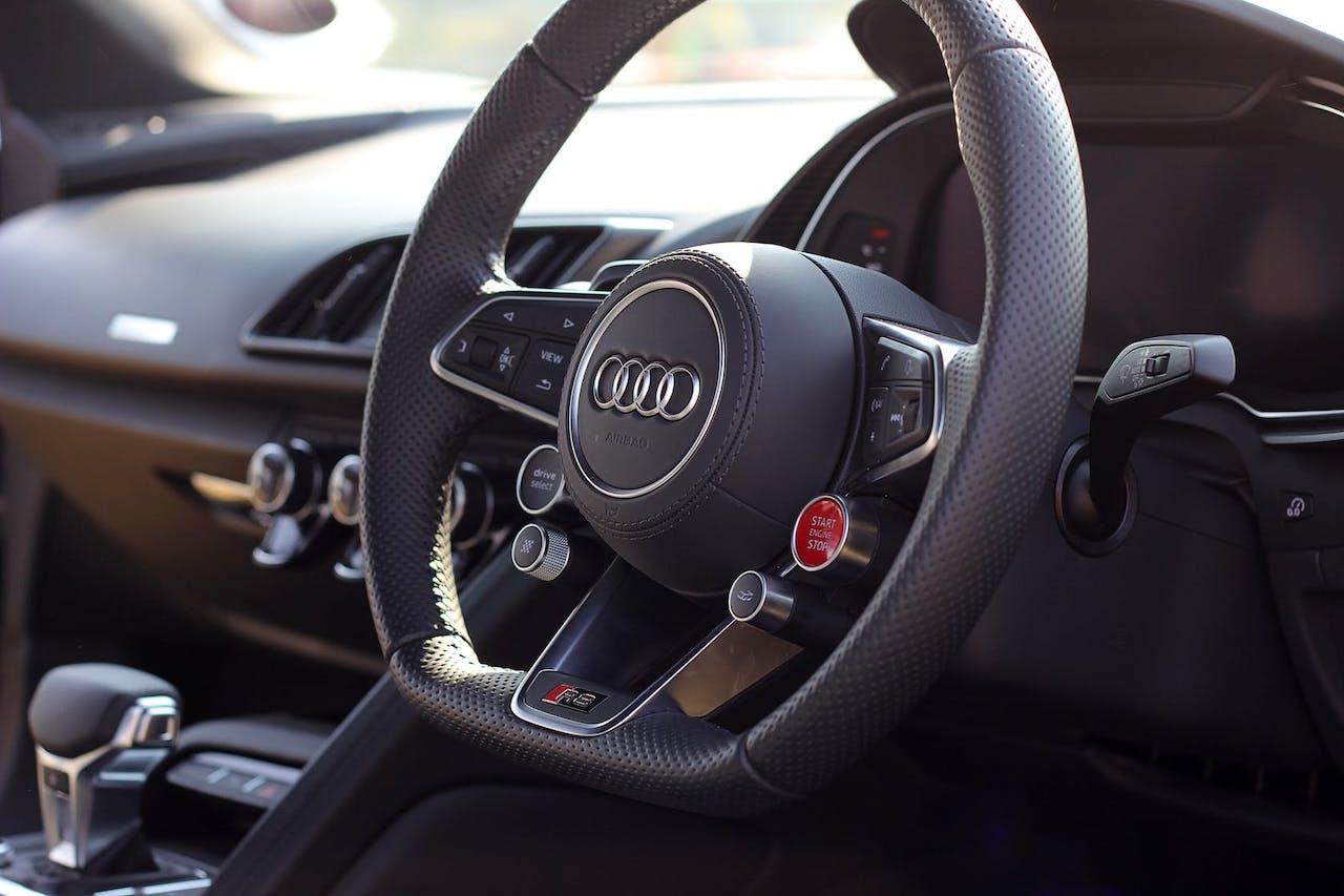 Audi Multifunktionslenkrad Interieur