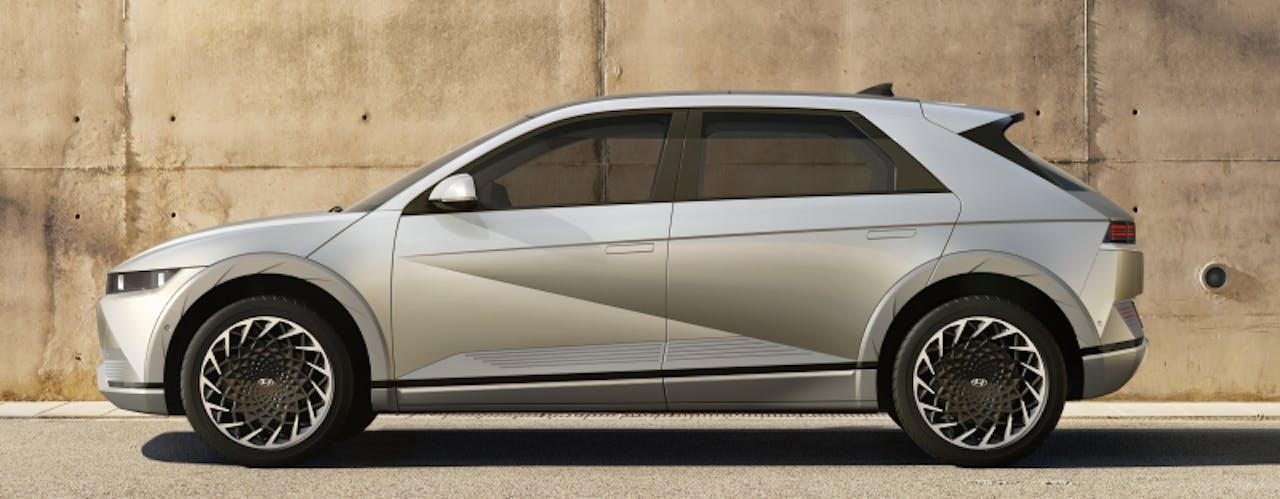 Hyundai: IONIQ 5 seitliche Ansicht