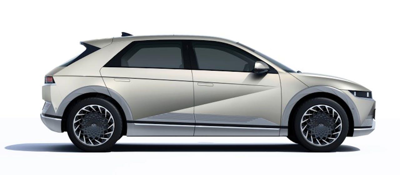 Hyundai: IONIQ 5 Seitenansicht