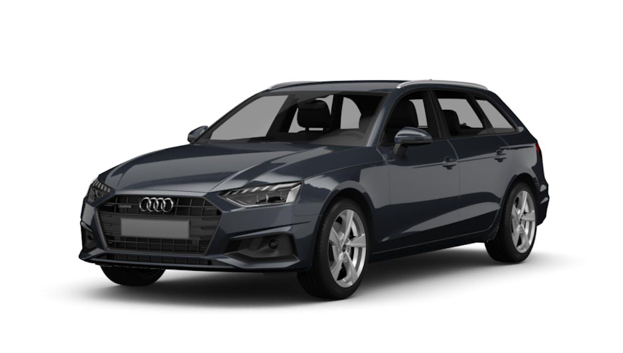 Audi A4 Avant in Grau