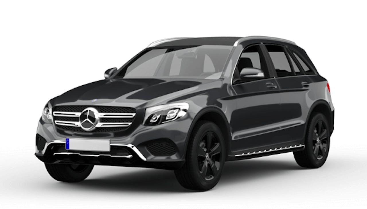 Mercedes-Benz CLC in Anthrazit