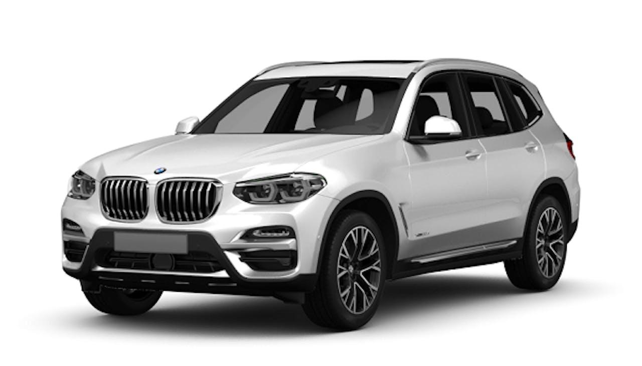 BMW X3 in Weiß